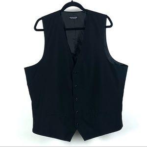 🌸Doni Barassi Black V-Neck Vest Size 48R 1163